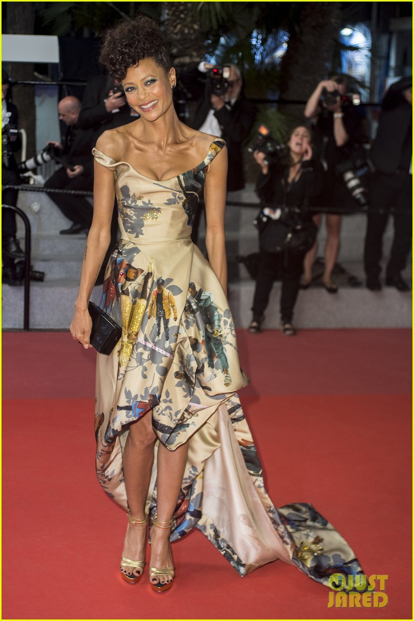 thandie newton star wars solo cannes premiere 014084026
