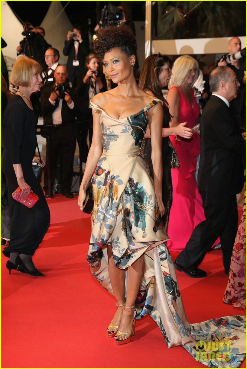 thandie newton star wars solo cannes premiere 184084043
