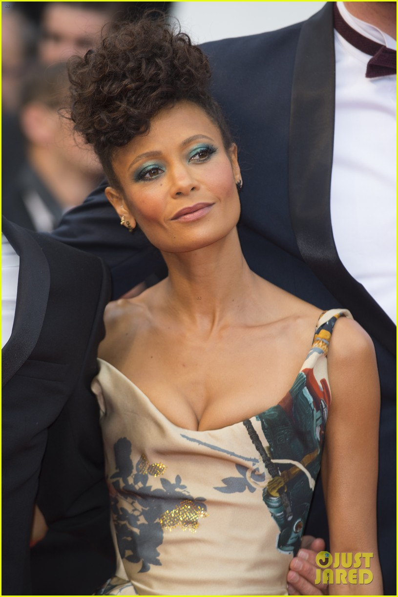 thandie newton star wars solo cannes premiere 244084049