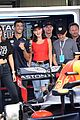 tom brady bella hadid represent tag heur at formula one grand prix 05