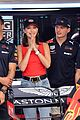 tom brady bella hadid represent tag heur at formula one grand prix 13
