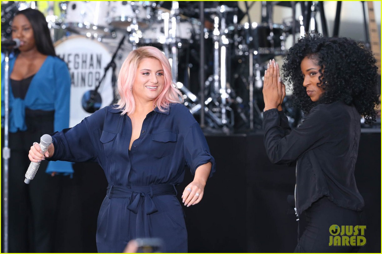 meghan trainor today show 064083990