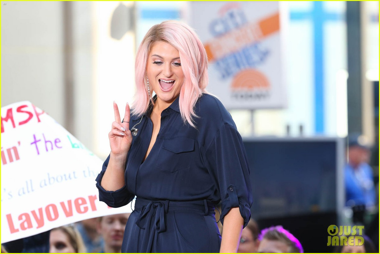 meghan trainor today show 374084021