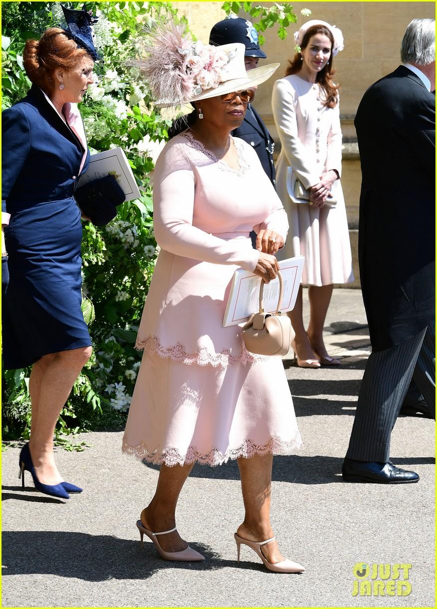 Oprah Winfrey Royal Wedding.Oprah Winfrey Avoided A Royal Wedding Fashion Emergency Here S