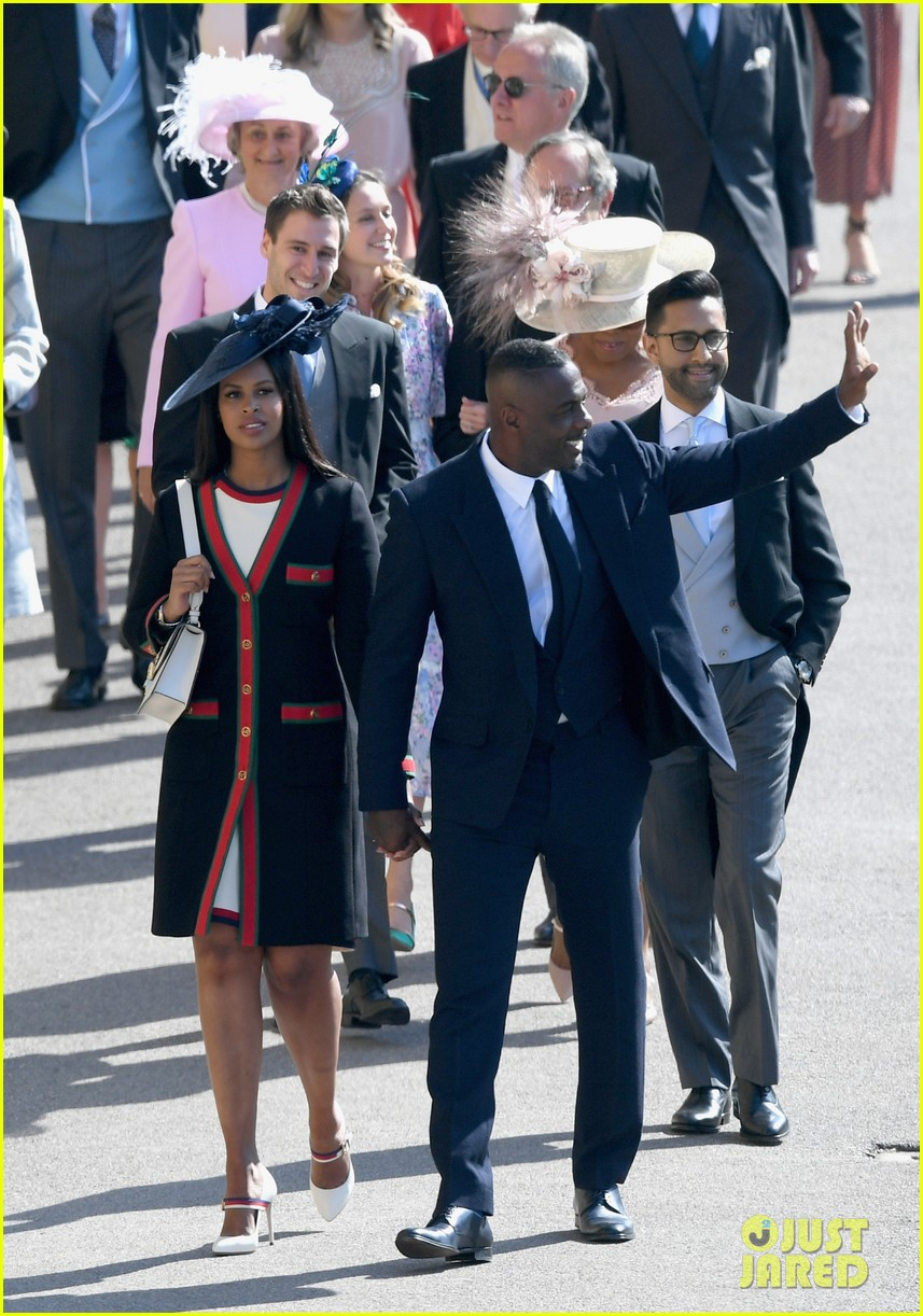 Oprah Winfrey Royal Wedding.Oprah Winfrey Arrives At Royal Wedding With Idris Elba Photo