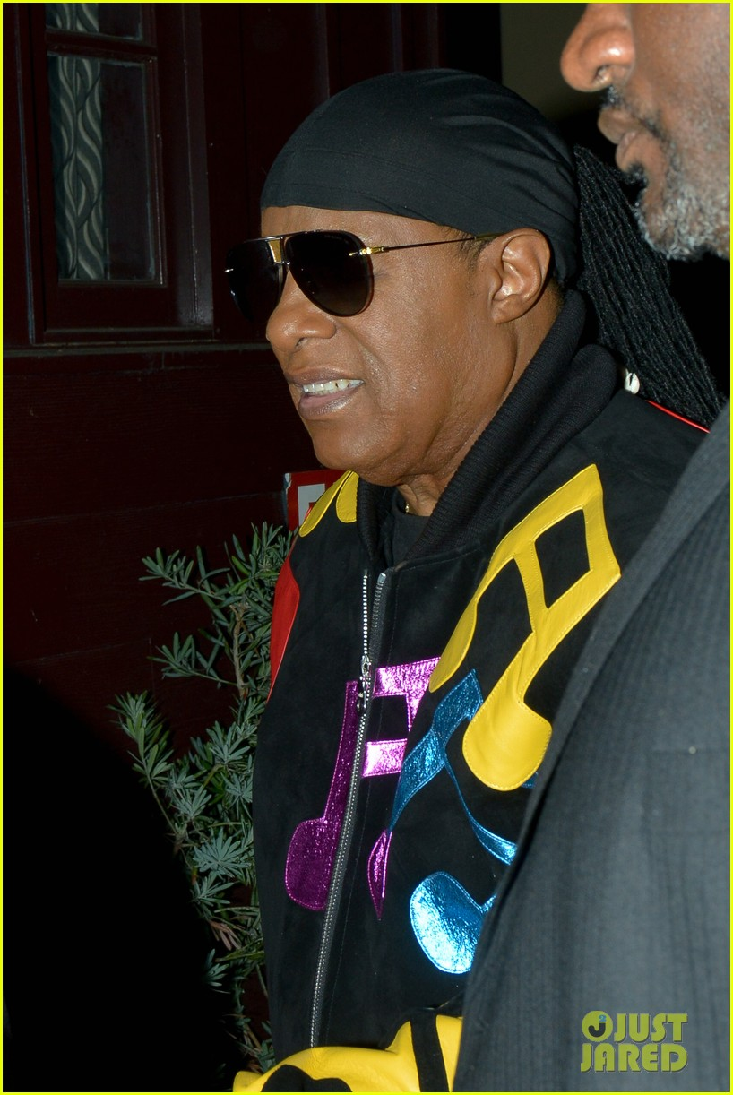 stevie wonder celebrates birthday with famous friends in weho 024080917