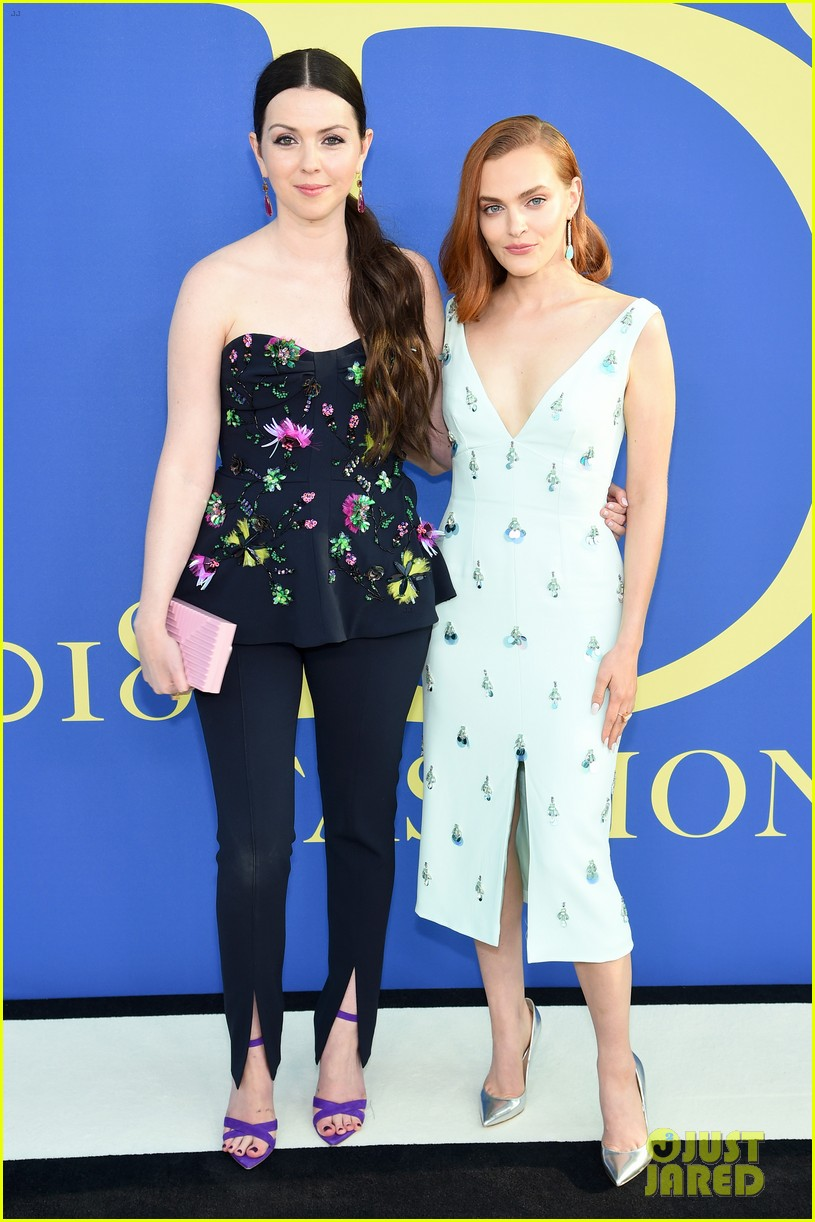 dianna agron madeline brewer and eve hewson look chic at cfda fashion awards 2018 064095118