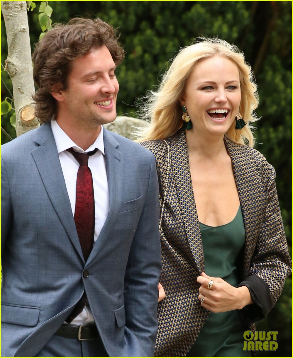 Malin Akerman Boyfriend Jack Donnelly Attend Kit Harington Rose