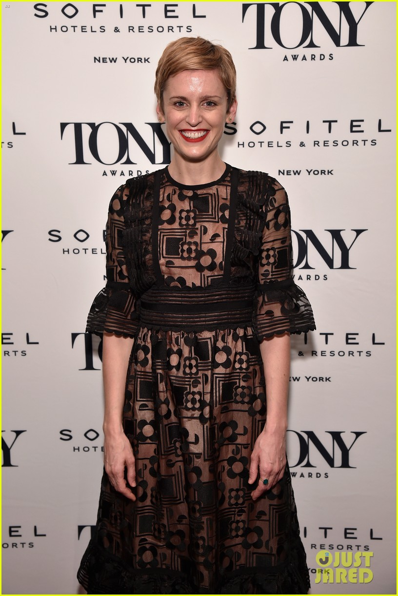 andrew garfield denise gough tony honors cocktail party 194095435