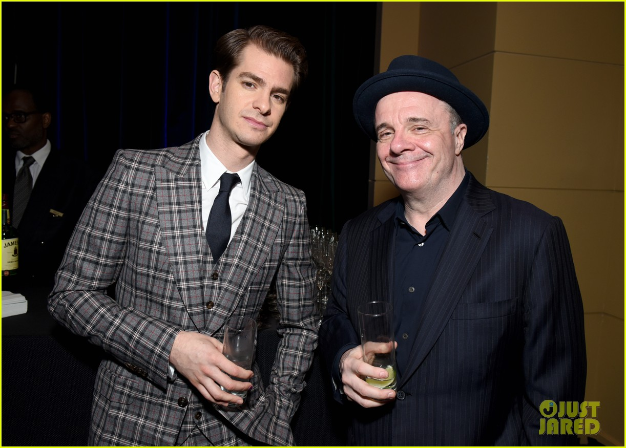 andrew garfield denise gough tony honors cocktail party 244095440