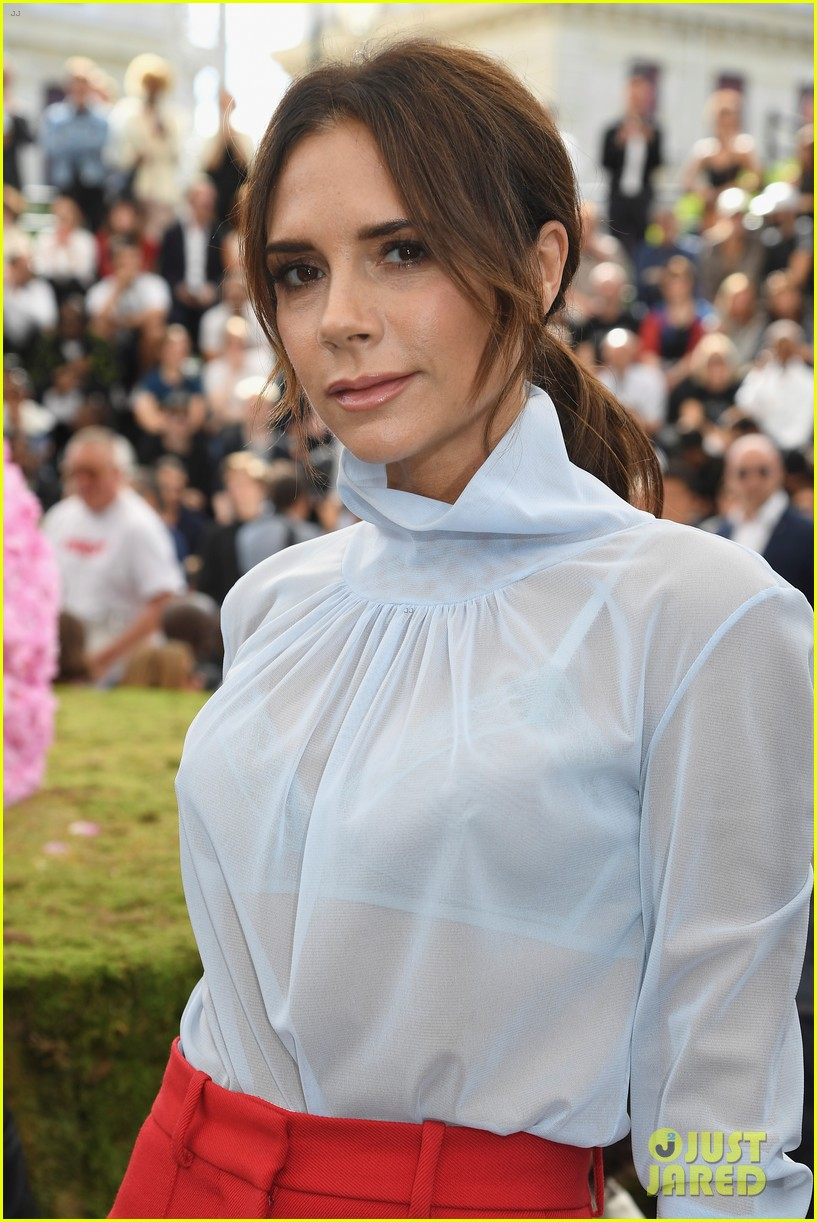 Victoria Beckham Joins Naomi Campbell & Kate Moss at Dior ...
