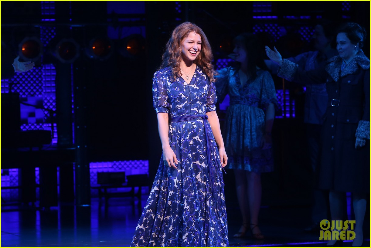 melissa benoist makes broadway debut in beautiful the carole king musical 014100997