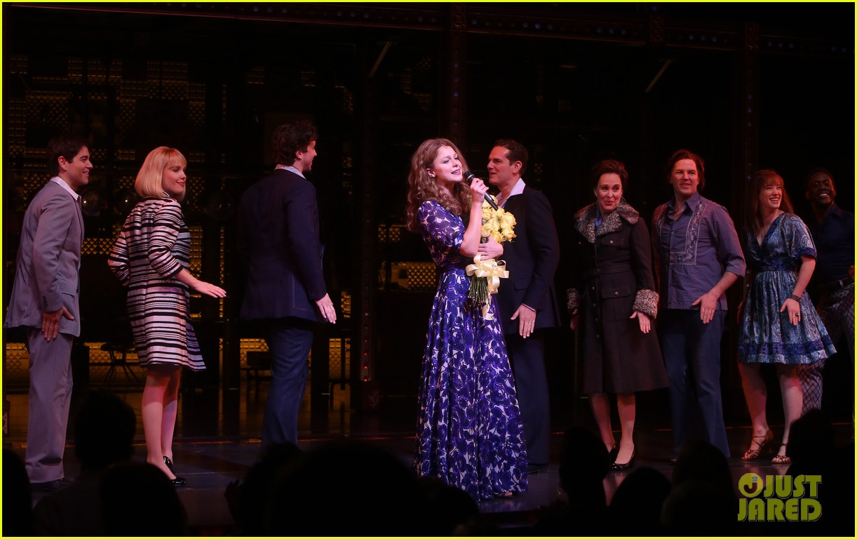 melissa benoist makes broadway debut in beautiful the carole king musical 144101010