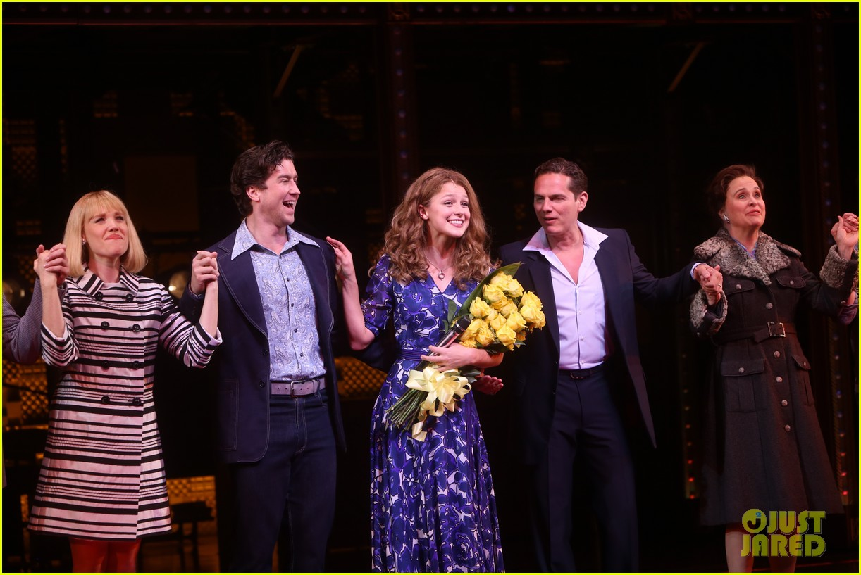 melissa benoist makes broadway debut in beautiful the carole king musical 234101019