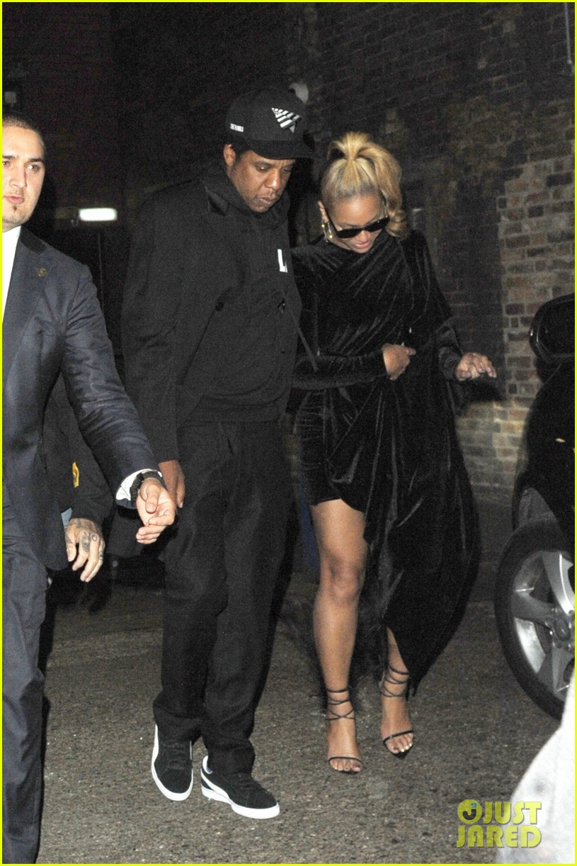 beyonce jay z step out for date night in london 014105833