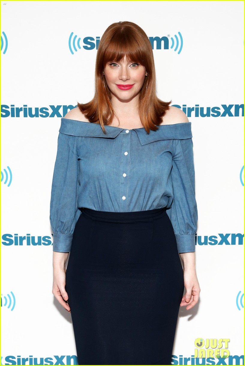 bryce dallas howard chris pratt siriusxm june 2018 014101812