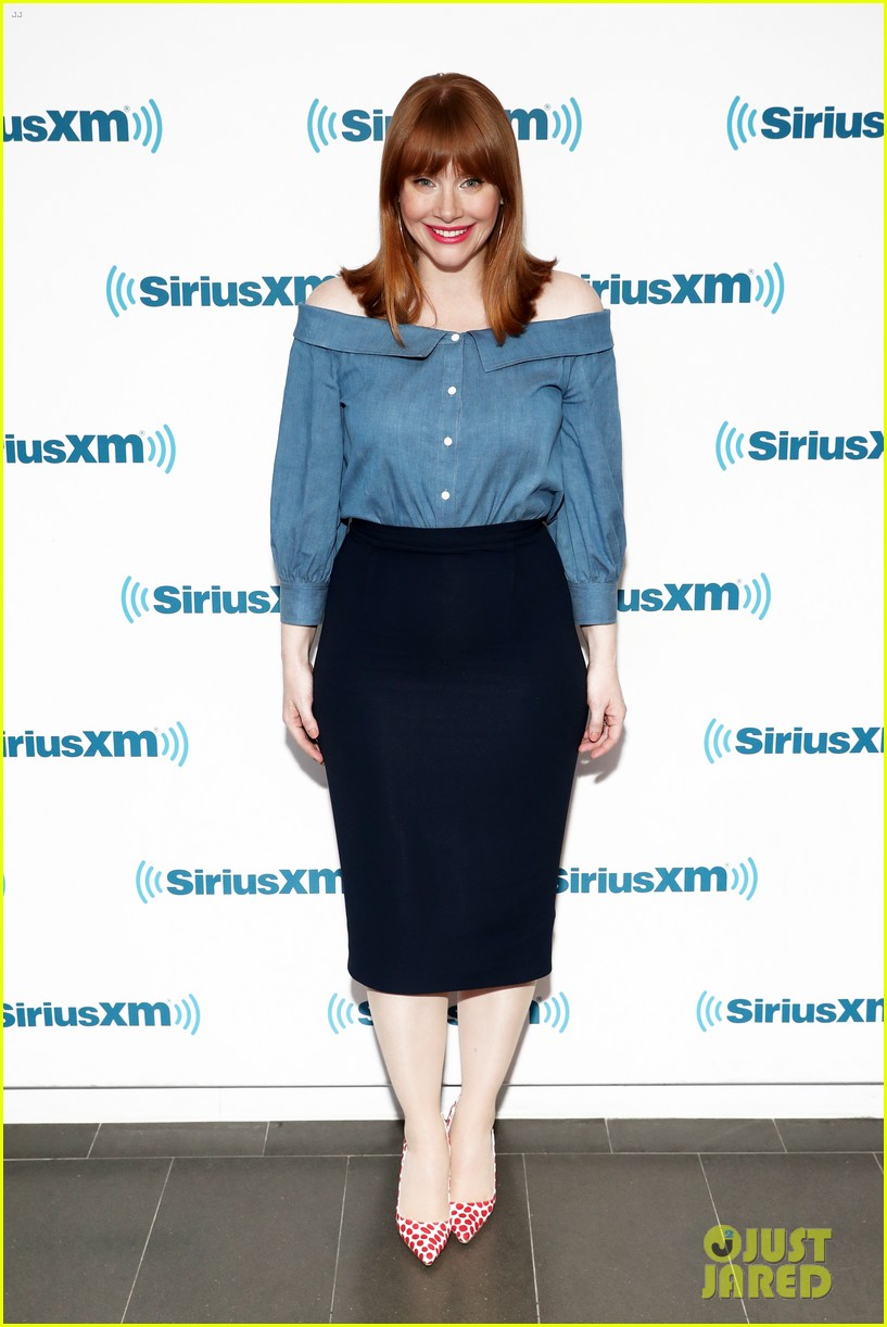 bryce dallas howard chris pratt siriusxm june 2018 184101829
