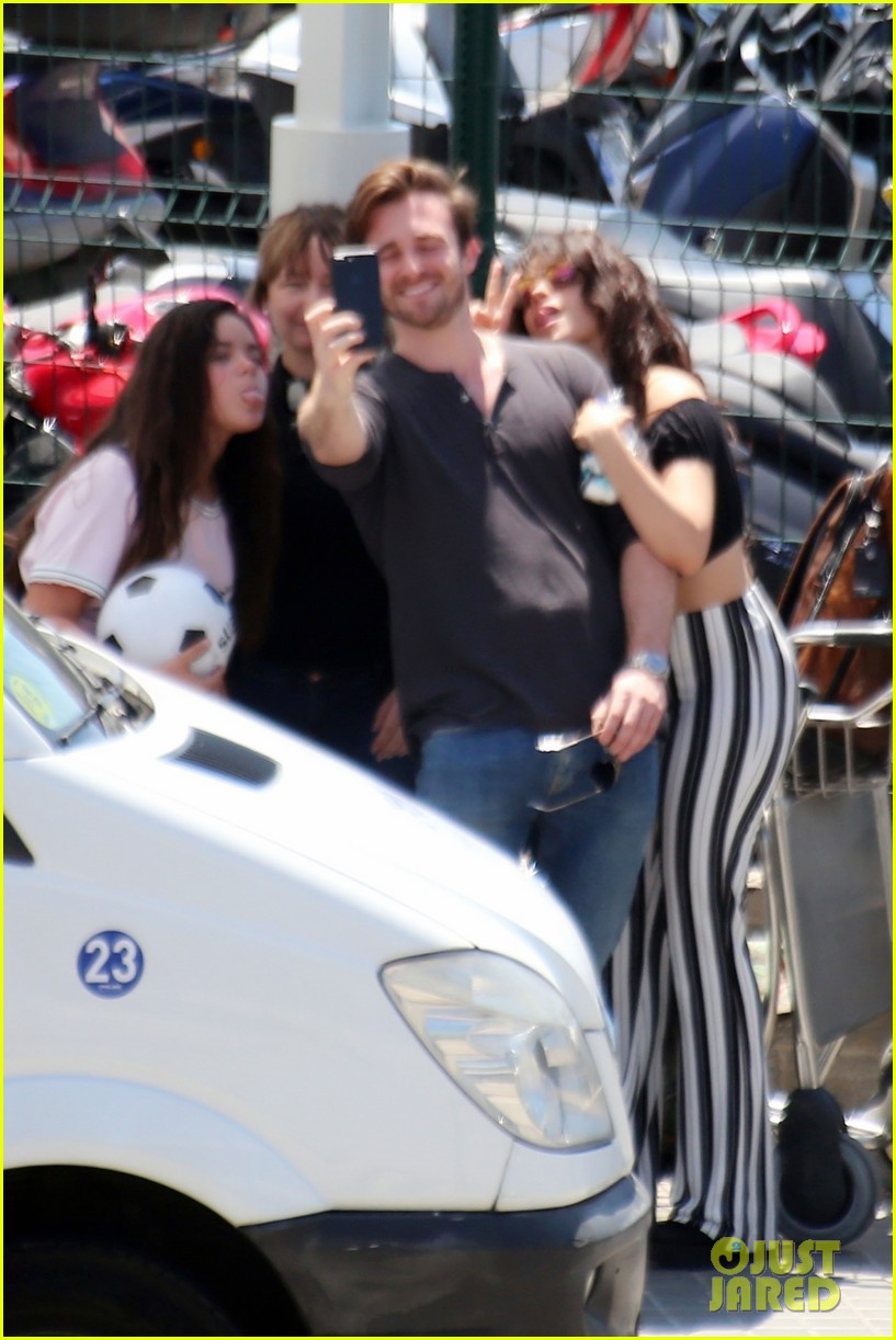Camila Cabello Amp Boyfriend Matthew Hussey Flaunt PDA In Spain Photo 4107296 Camila Cabello