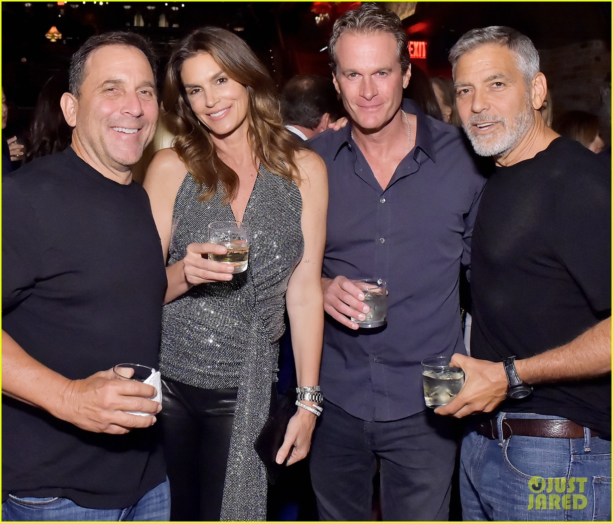 george clooney rande gerber cindy crawford casamigos party 134098195