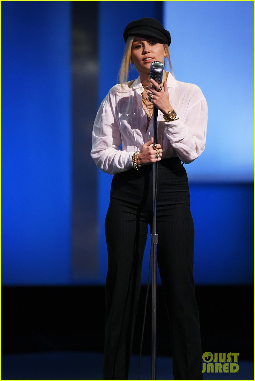 miley cyrus george clooney afi tribute 024097678