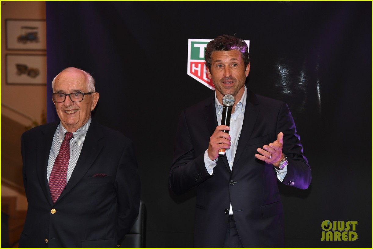 patrick dempsey hosts tag heuer event in monaco 034100643