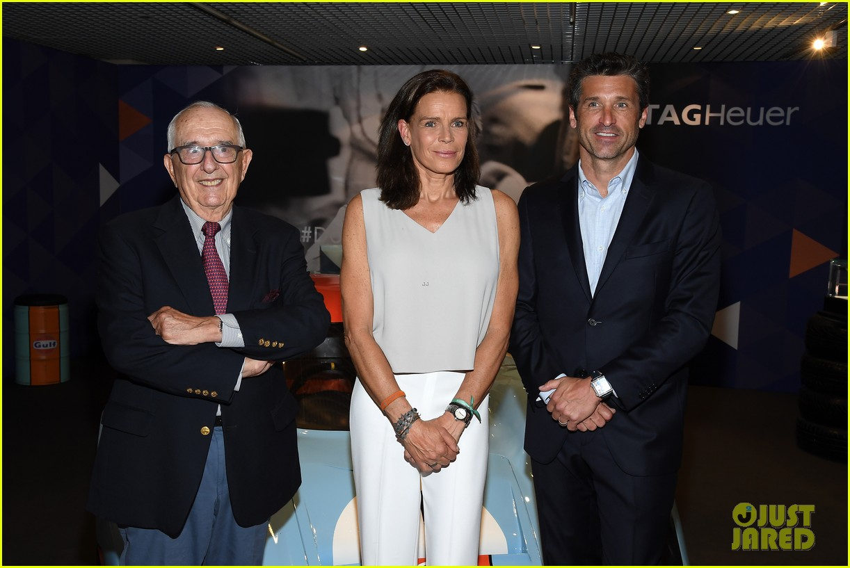 patrick dempsey hosts tag heuer event in monaco 094100649
