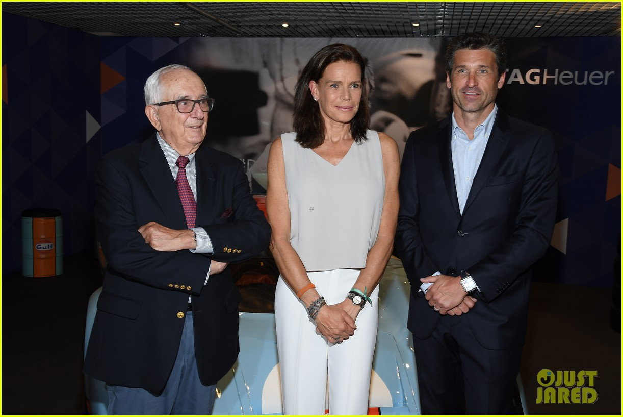 patrick dempsey hosts tag heuer event in monaco 144100654