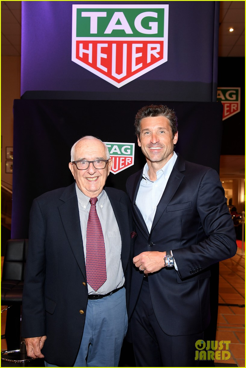patrick dempsey hosts tag heuer event in monaco 154100655