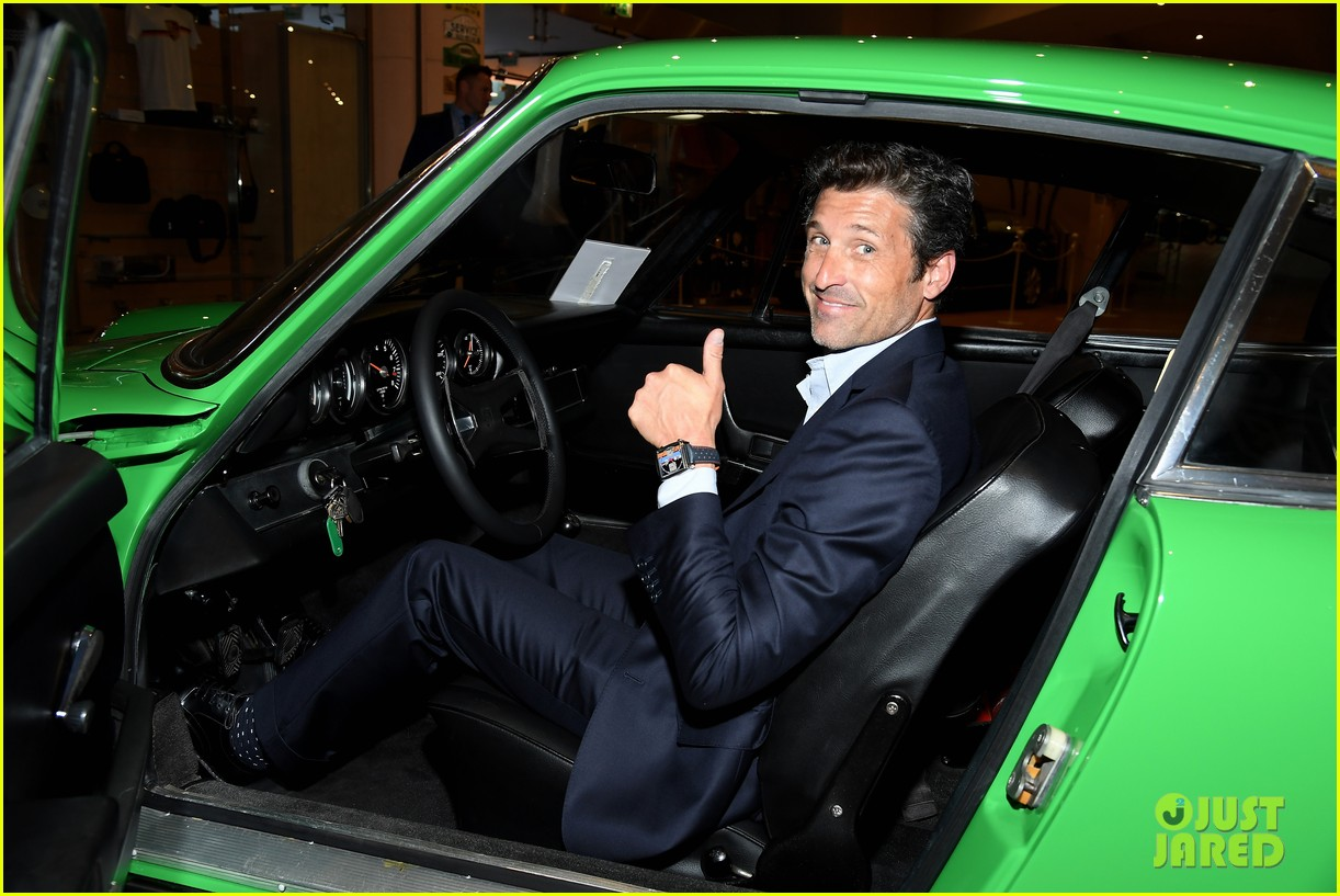 patrick dempsey hosts tag heuer event in monaco 164100656