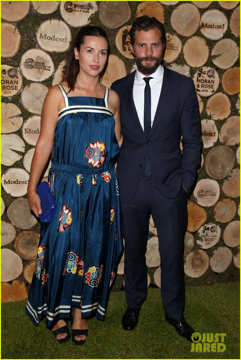 jamie dornan wife amelia step out for niall horan charity event 014106806
