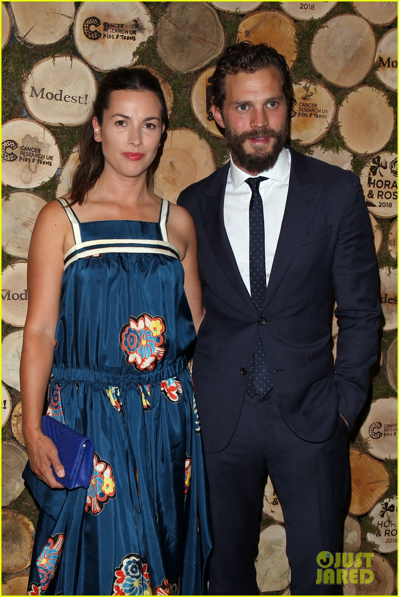 jamie dornan wife amelia step out for niall horan charity event 044106809