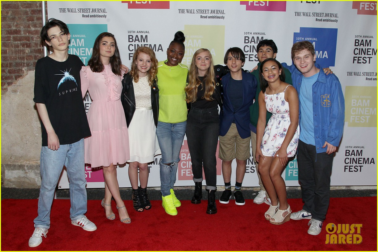 elsie fisher emily robinson eighth grade screening 064108728