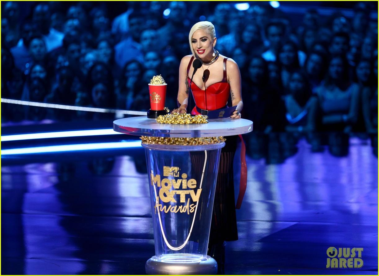 lady gaga mtv movie tv awards 2018 254104038