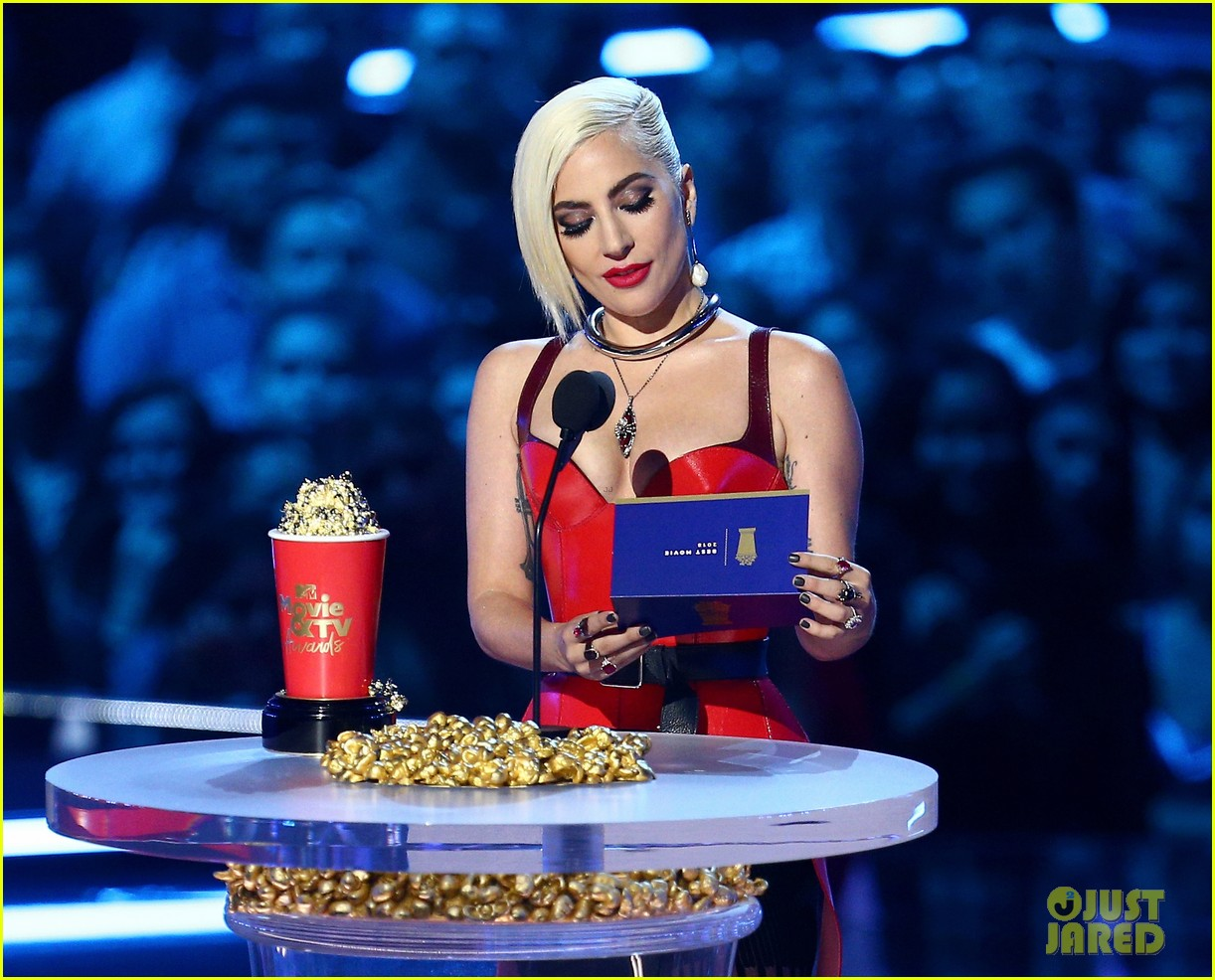 lady gaga mtv movie tv awards 2018 264104039