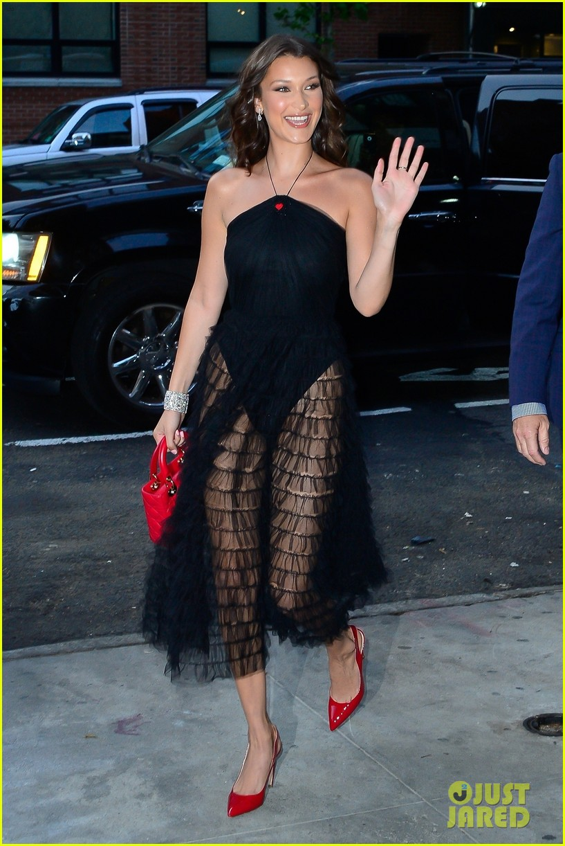 bella hadid stun at door event in nyc 014097751