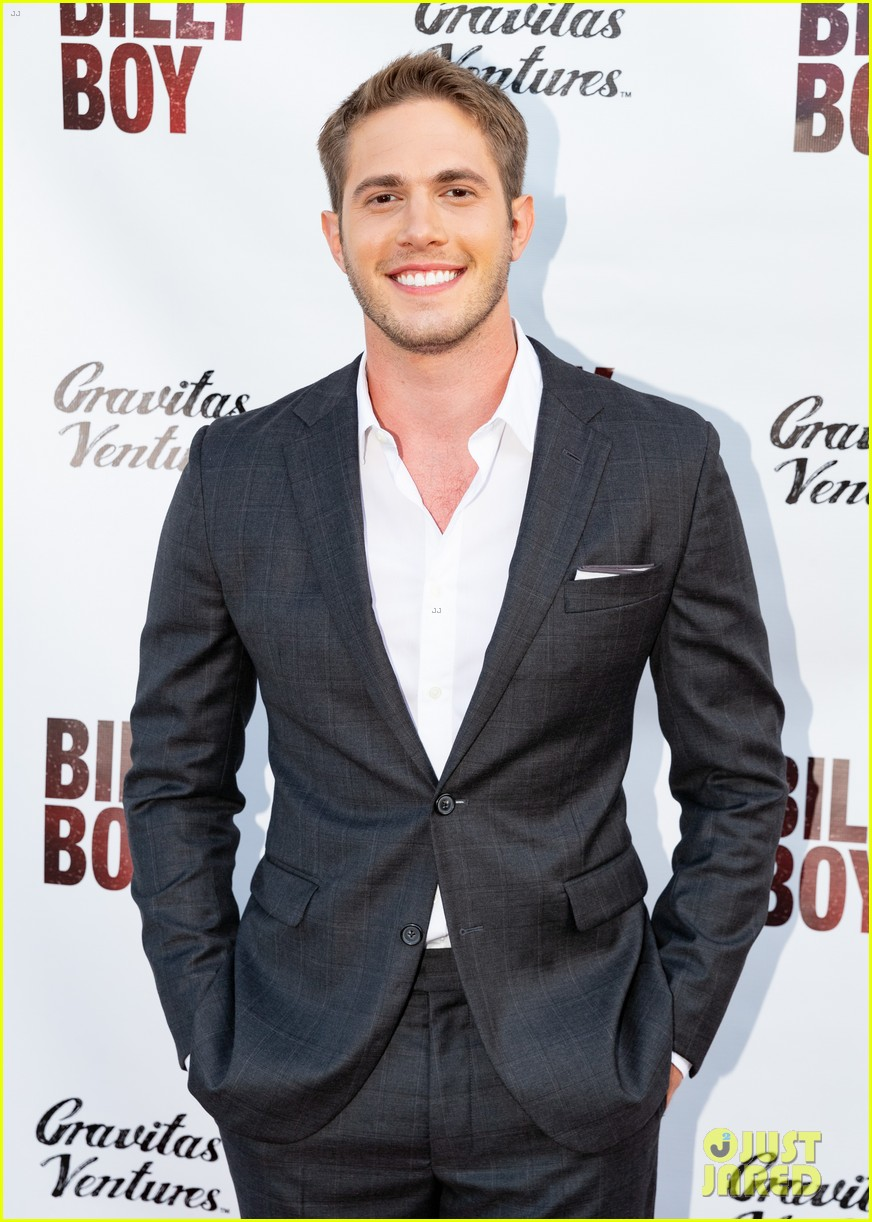 blake jenner is supported by former glee costars at billy boy premiere 024100960