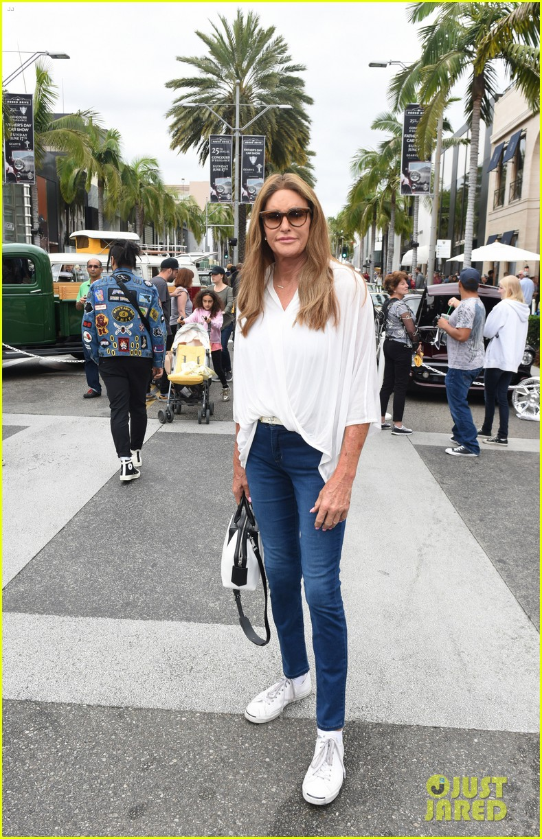 Caitlyn Jenner Celebrates Father S Day At Concours D