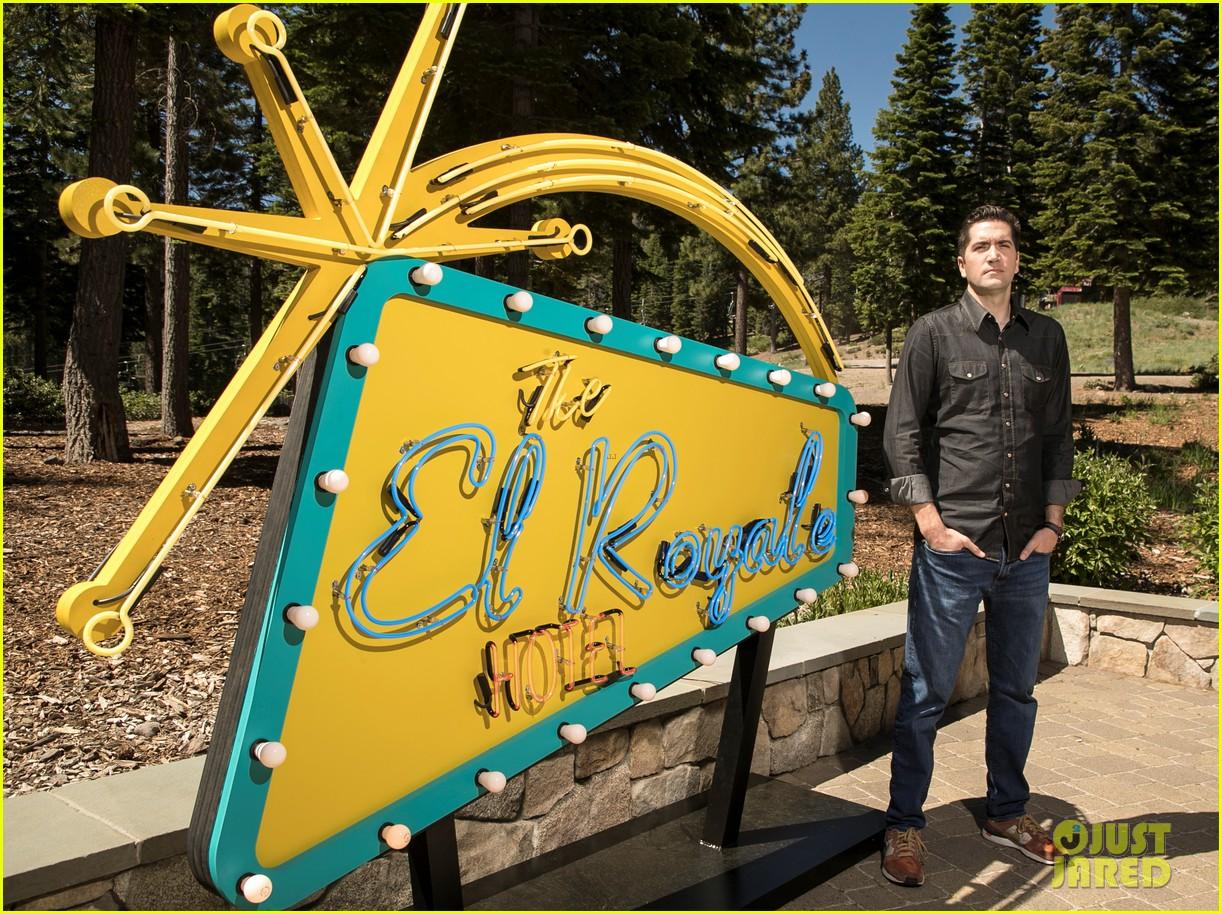 dakota johnson joins el royale cast at lake tahoe event 124109334