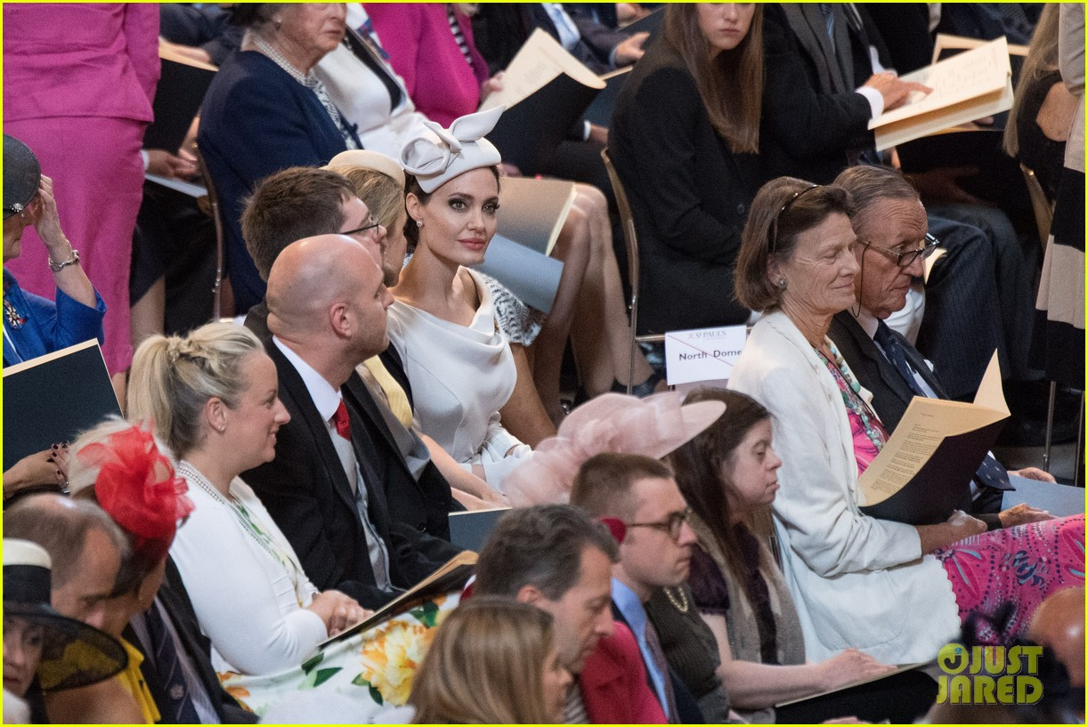 angelina jolie service of commemoration dedication 104108419