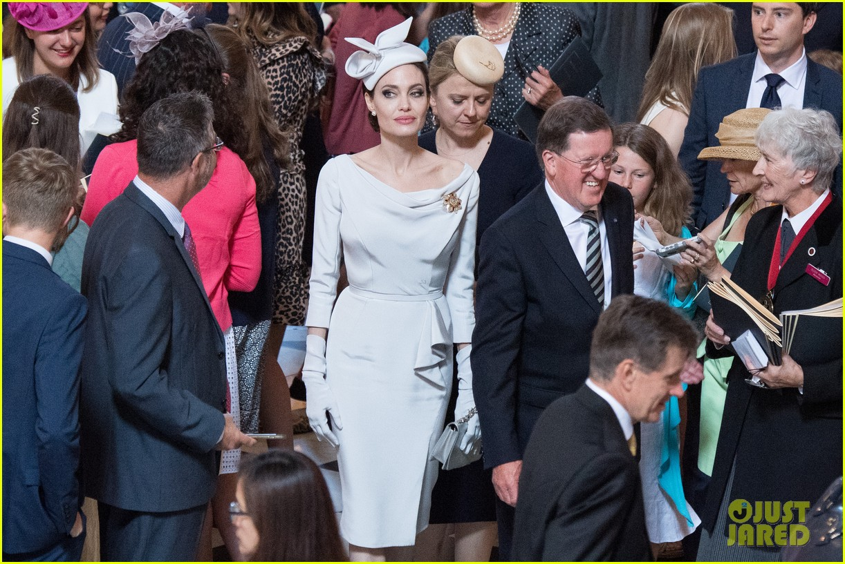 angelina jolie service of commemoration dedication 144108423