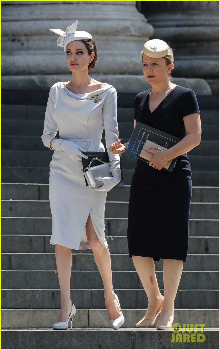 angelina jolie service of commemoration dedication 154108424