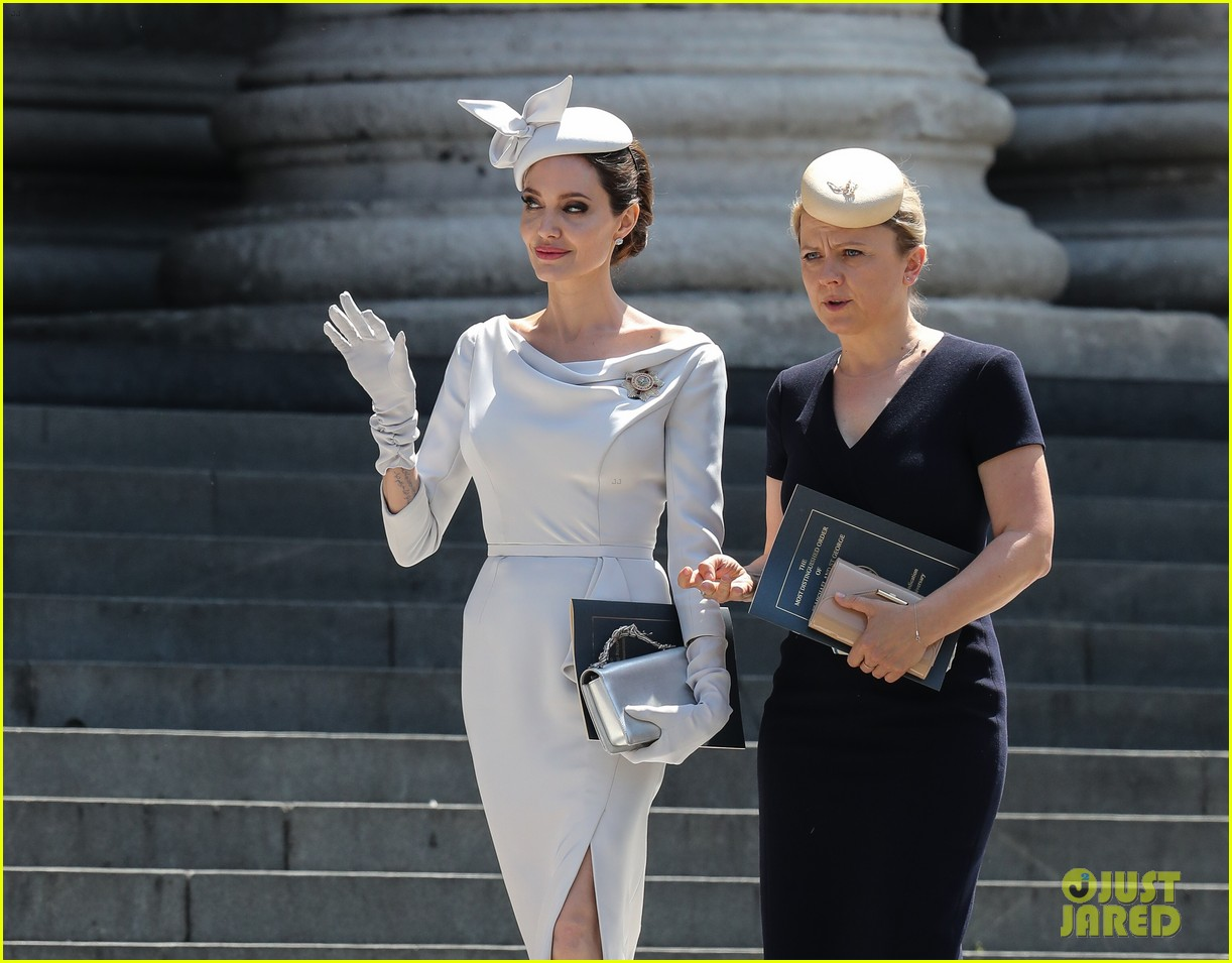 angelina jolie service of commemoration dedication 174108426