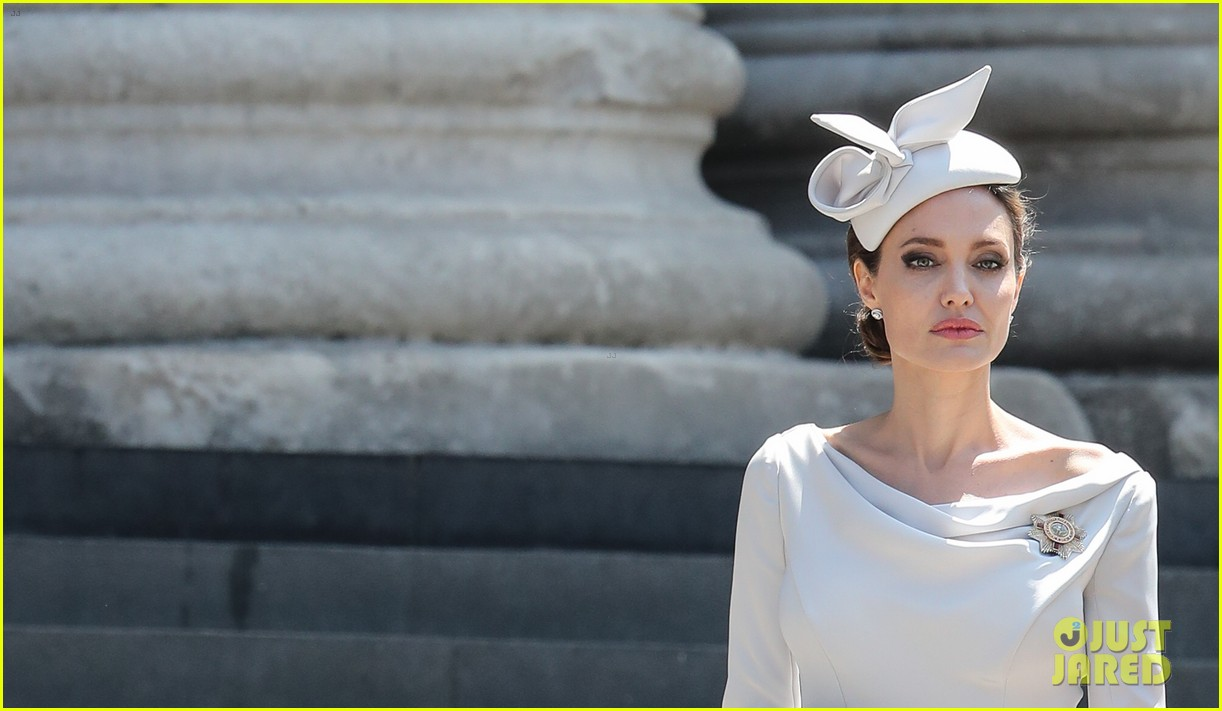 angelina jolie service of commemoration dedication 384108447
