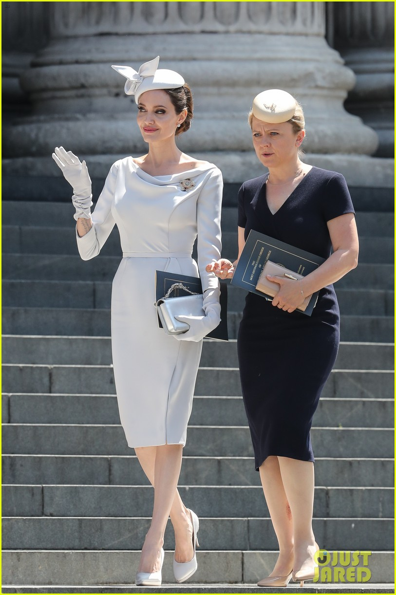 angelina jolie service of commemoration dedication 444108453