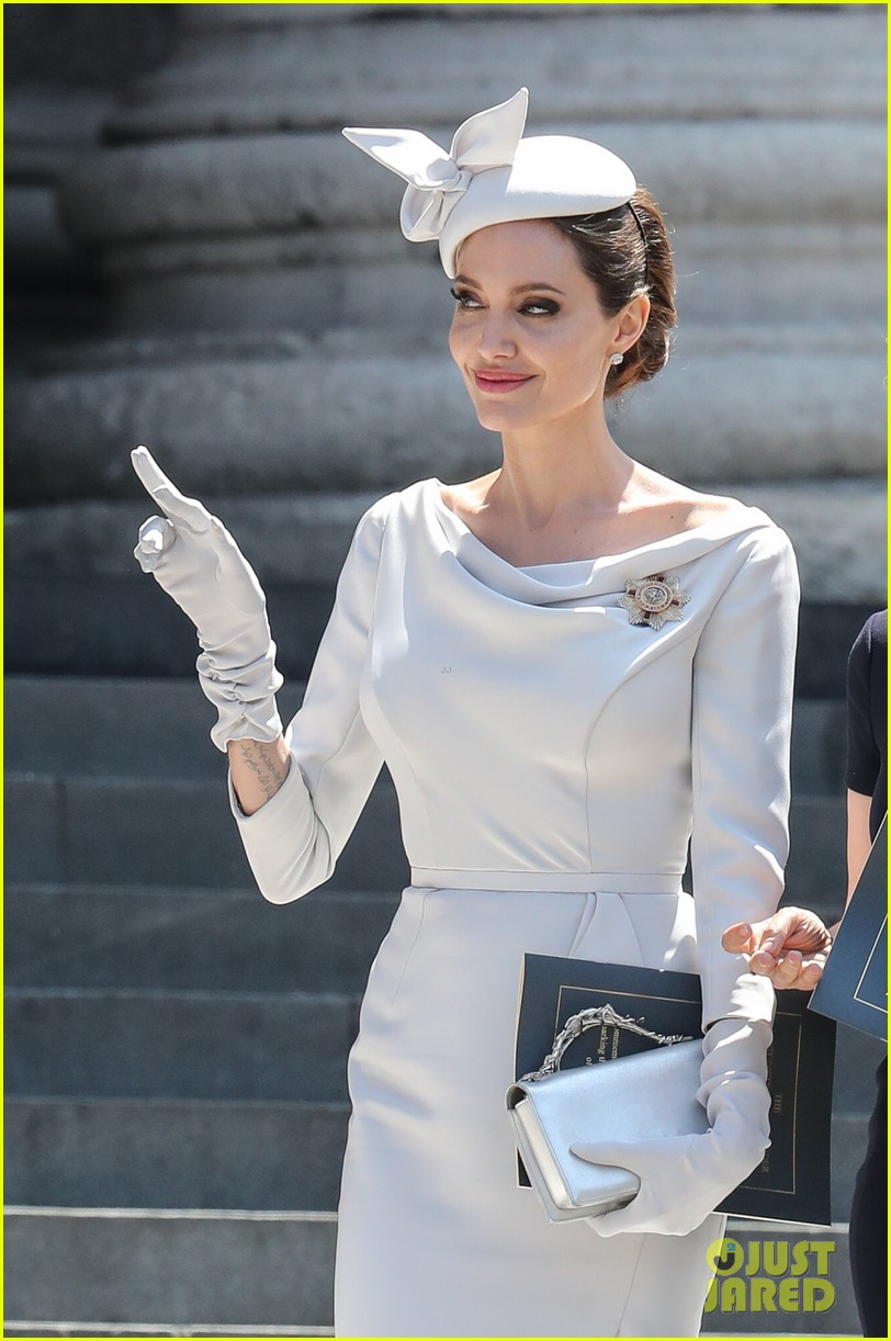 angelina jolie service of commemoration dedication 474108456