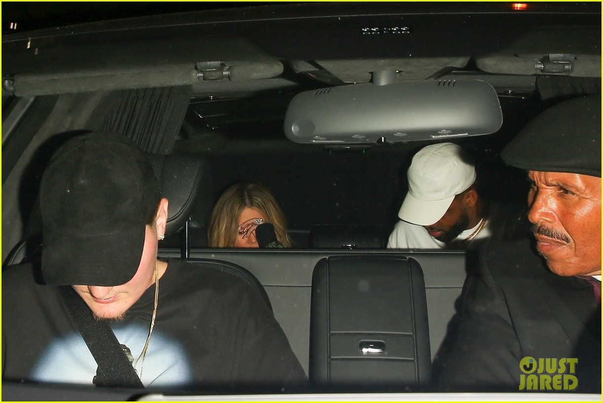 khloe kardashian tristan thompson rare appearance out together 344104157