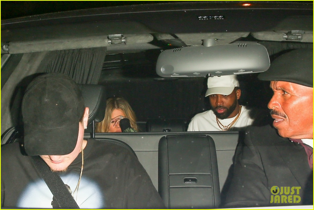 khloe kardashian tristan thompson rare appearance out together 364104159