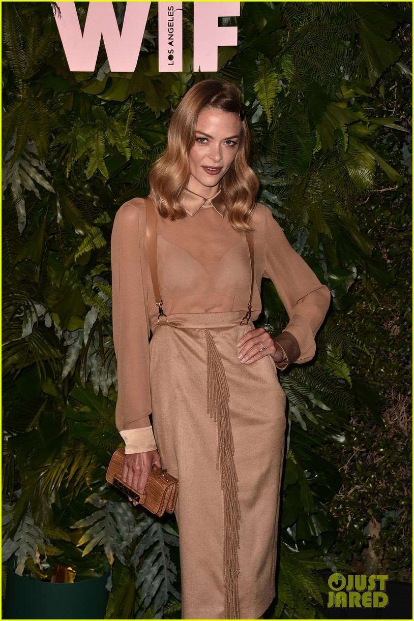 jaime king january jones angela sarafyan more celebrate max maras face of the future 014100669