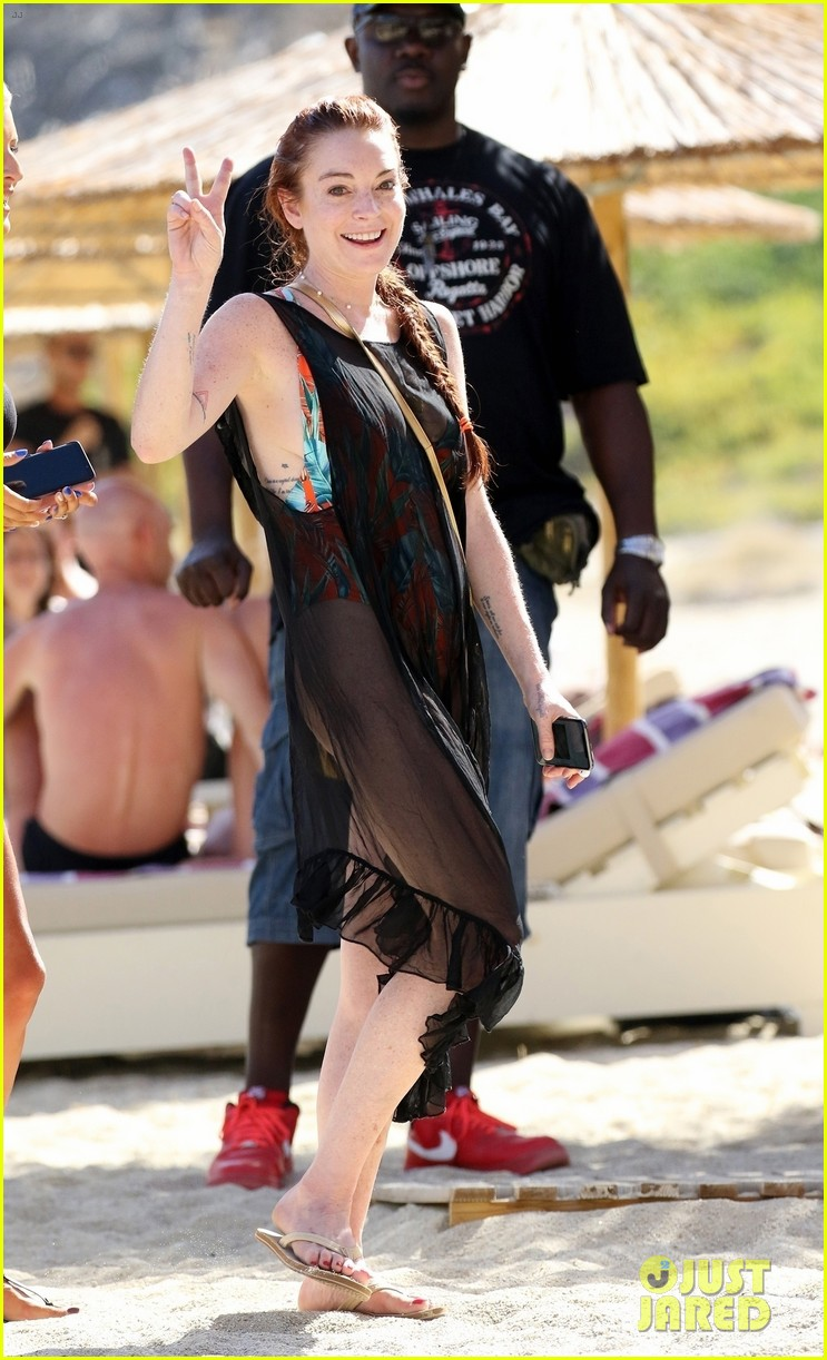 Lindsay Lohan Is All S...