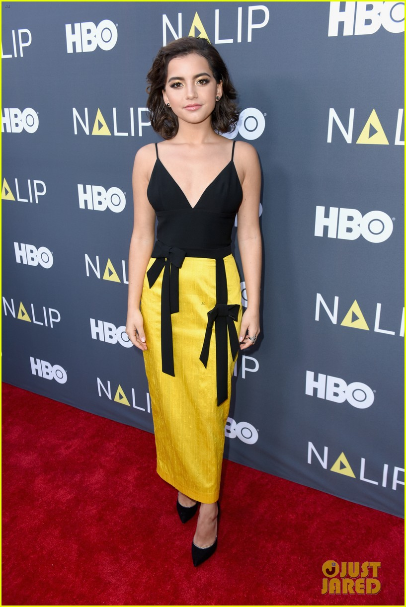 diego luna isabela moner step out for nalip latino media awards 014106847